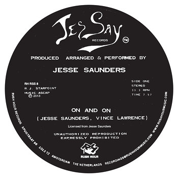 Cover art - Jesse Saunders: On And On