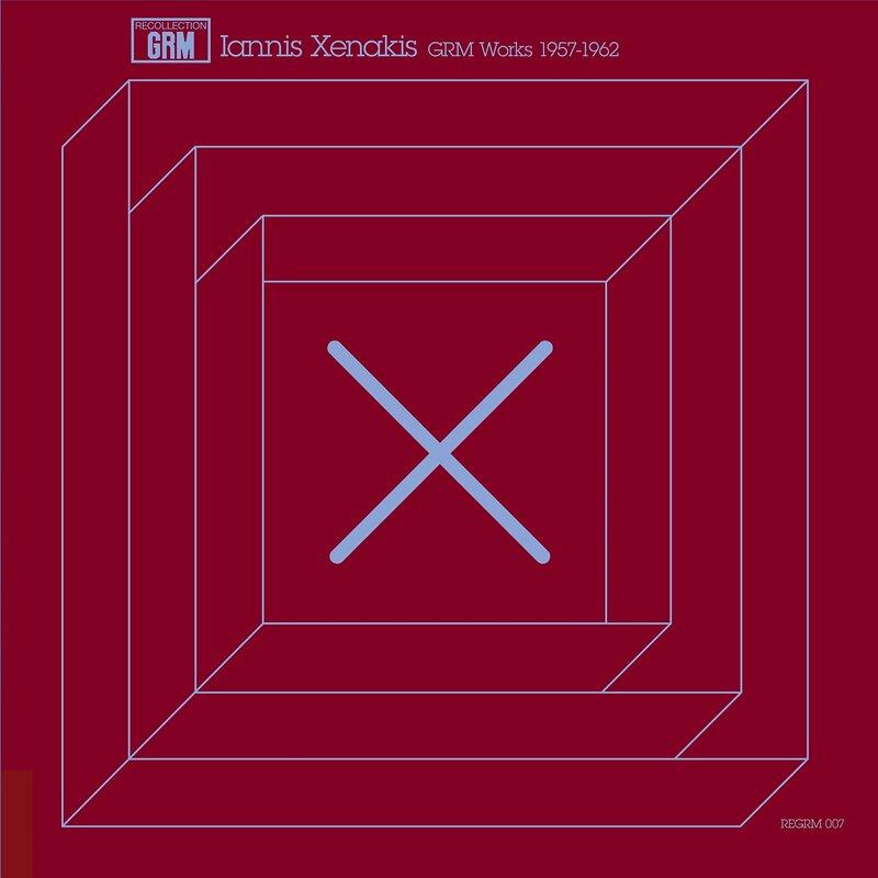 Cover art - Iannis Xenakis: GRM Works 1957-1962
