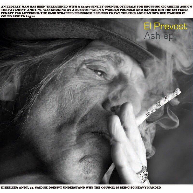 Cover art - El Prevost: Ash EP