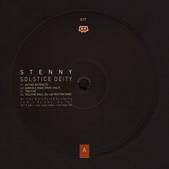 Cover art - Stenny: Solstice Deity