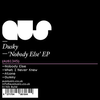 Cover art - Dusky: Nobody Else EP