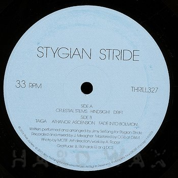 Cover art - Stygian Stride: Stygian Stride