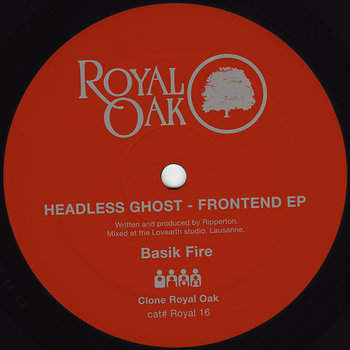 Cover art - Headless Ghost: Frontend EP