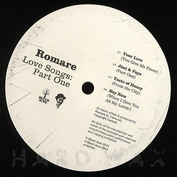 Cover art - Romare: Love Songs: Part One EP