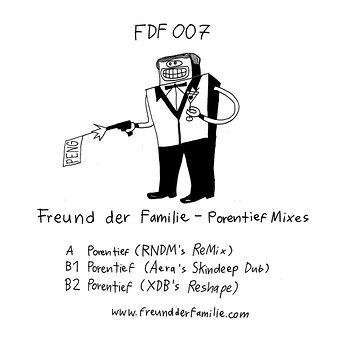 Cover art - Freund der Familie: Porentief Mixes