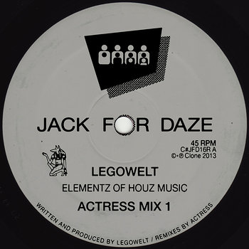 Cover art - Legowelt: Elementz Of Houz Music
