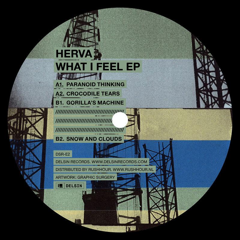 Cover art - Herva: What I Feel