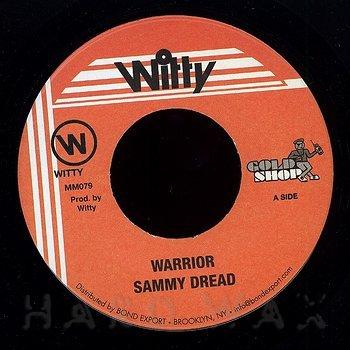 Cover art - Sammy Dread: Warrior