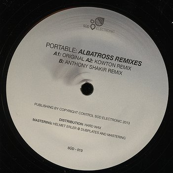 Cover art - Portable: Albatross Remixes