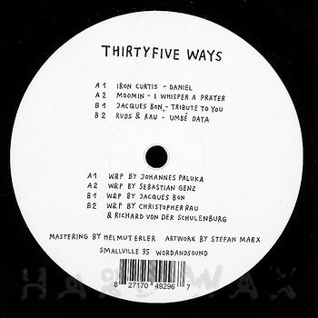 Cover art - Various Artists: Thirtyfive Ways