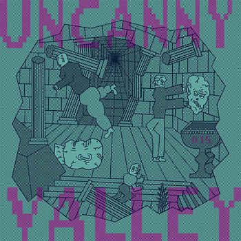 Cover art - Various Artists: Uncanny Valley 015