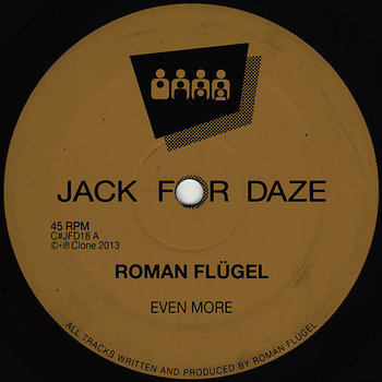 Cover art - Roman Flügel: Even More