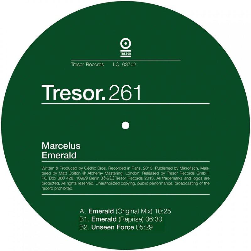Cover art - Marcelus: Emerald EP