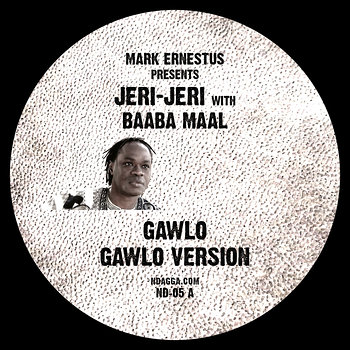 Cover art - Mark Ernestus presents Jeri-Jeri: Gawlo