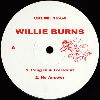 Cover art - Willie Burns: Run From The Sunset