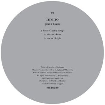 Cover art - Hreno: Frank Barns