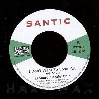 "Cover art - Leonard ""Santic"" Chin: I Don't Want To Lose You"