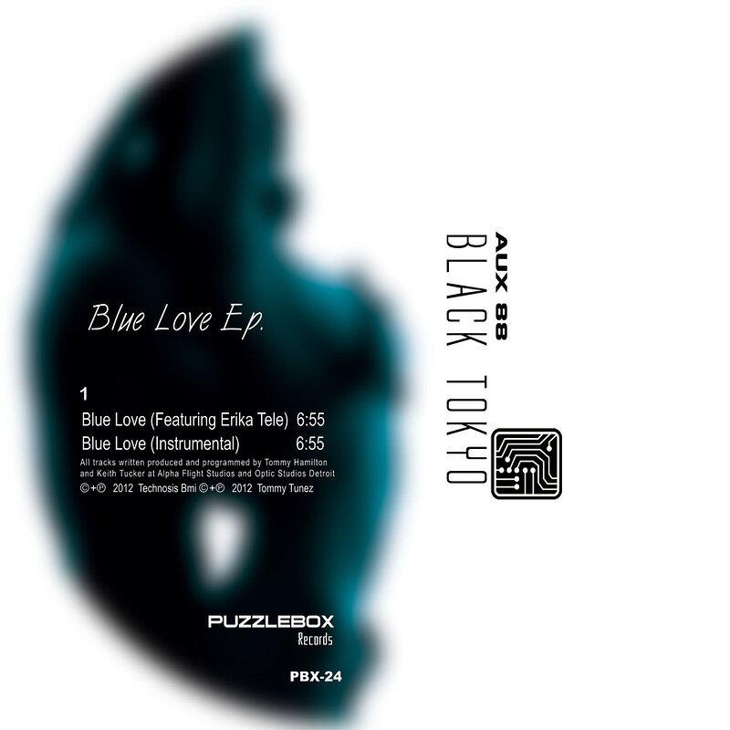 Cover art - Aux 88: Present Black Tokyo – Blue Love