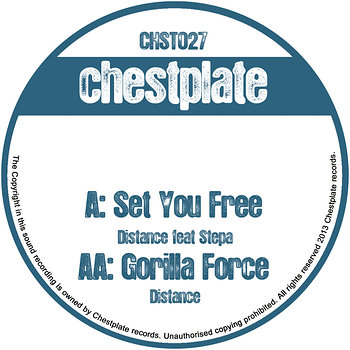 Cover art - Distance: Set You Free