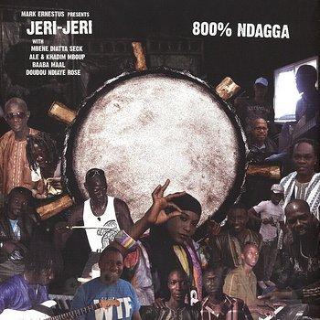 Cover art - Mark Ernestus presents Jeri-Jeri: 800% Ndagga