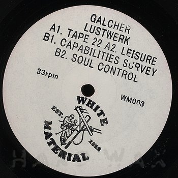 Cover art - Galcher Lustwerk: Tape 22
