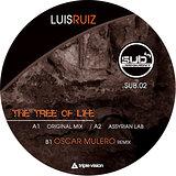 Cover art - Luis Ruiz: The Tree Of Life