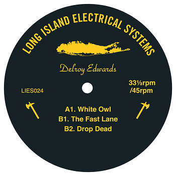 Cover art - Delroy Edwards: White Owl EP