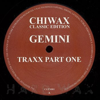 Cover art - Gemini: Gemini Traxx Part One