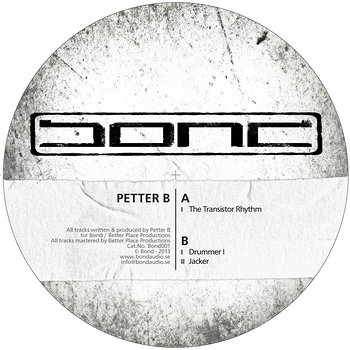 Cover art - Petter B: The Transistor Rhythm