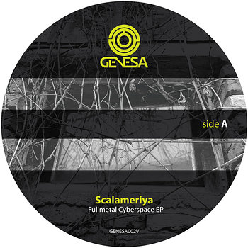 Cover art - Scalameriya: Fullmetal Cyberspace EP