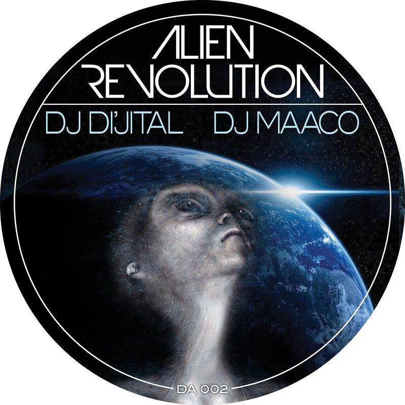 Cover art - DJ Di'jital: Alien Revolution