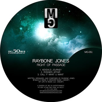 Cover art - Raybone Jones: Right Of Passage