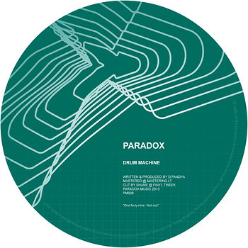 Cover art - Paradox: Drum Machine