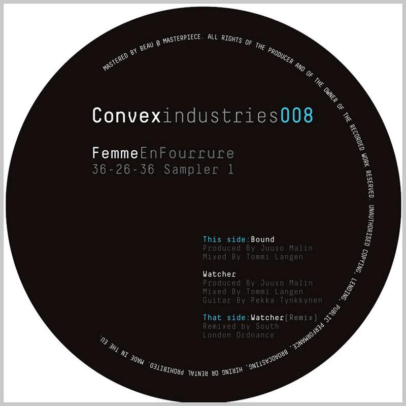 Cover art - Femme En Fourrure: 36-26-36 Sampler #1