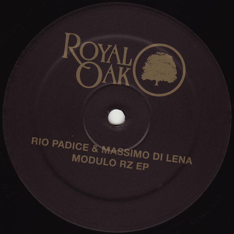 Cover art - Rio Padice & Massimo Di Lena: Modulo RZ