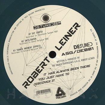 Cover art - Robert Leiner: De:tuned EP
