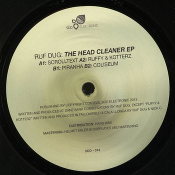 Cover art - Ruf Dug: The Head Cleaner EP