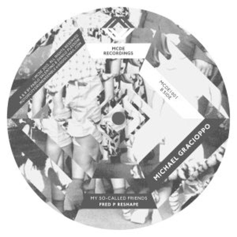 Cover art - Michael Gracioppo: Santo & Christine EP