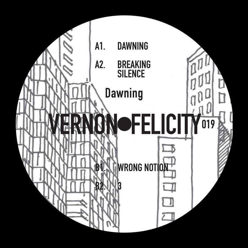 Cover art - Vernon Felicity: Dawning