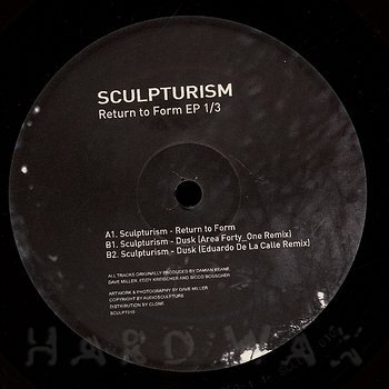 Cover art - Sculpturism: Return To Form EP 1/3