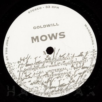 Cover art - Goldwill: Mows