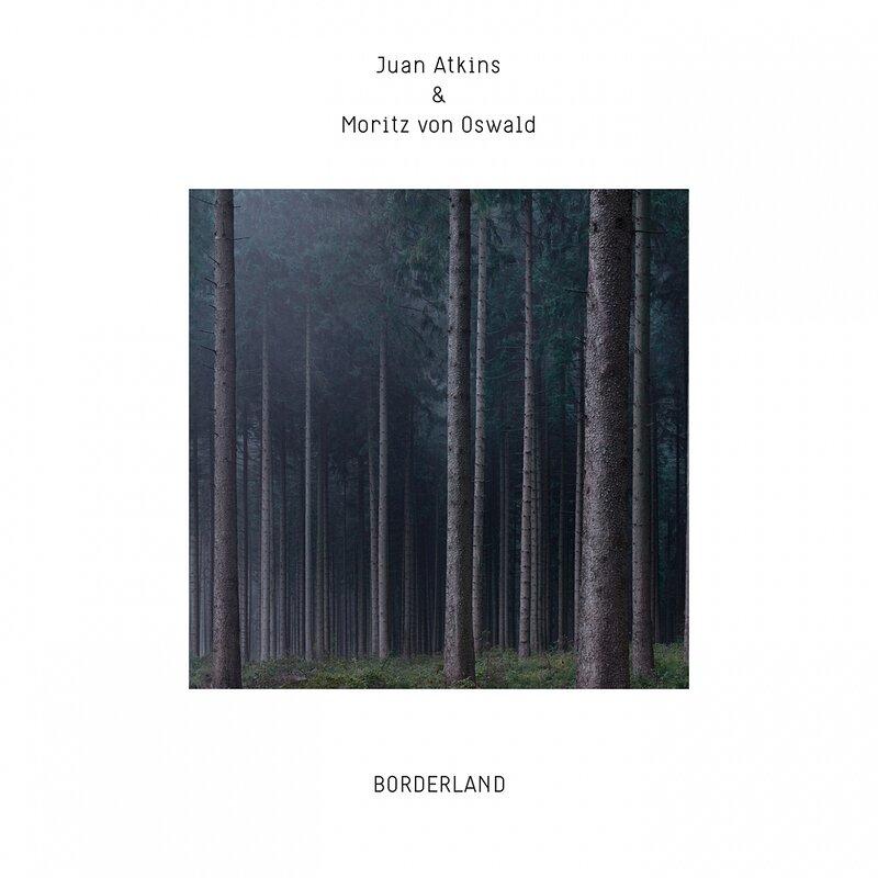 Cover art - Juan Atkins & Moritz von Oswald: Borderland