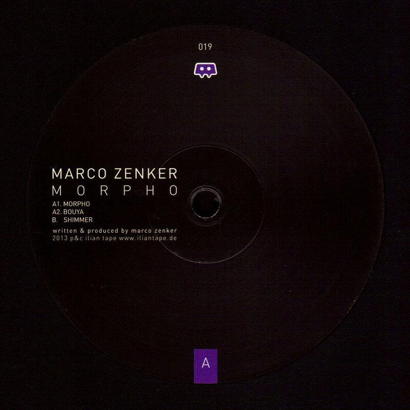 Cover art - Marco Zenker: Morpho