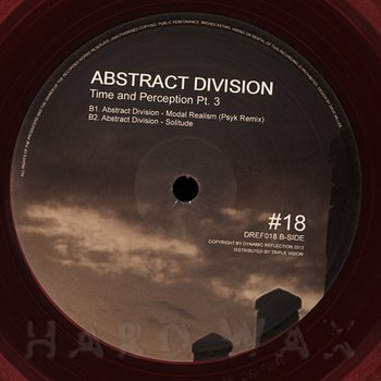 Cover art - Abstract Division: Time and Perception Pt. 3