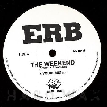 Cover art - Erb: The Weekend