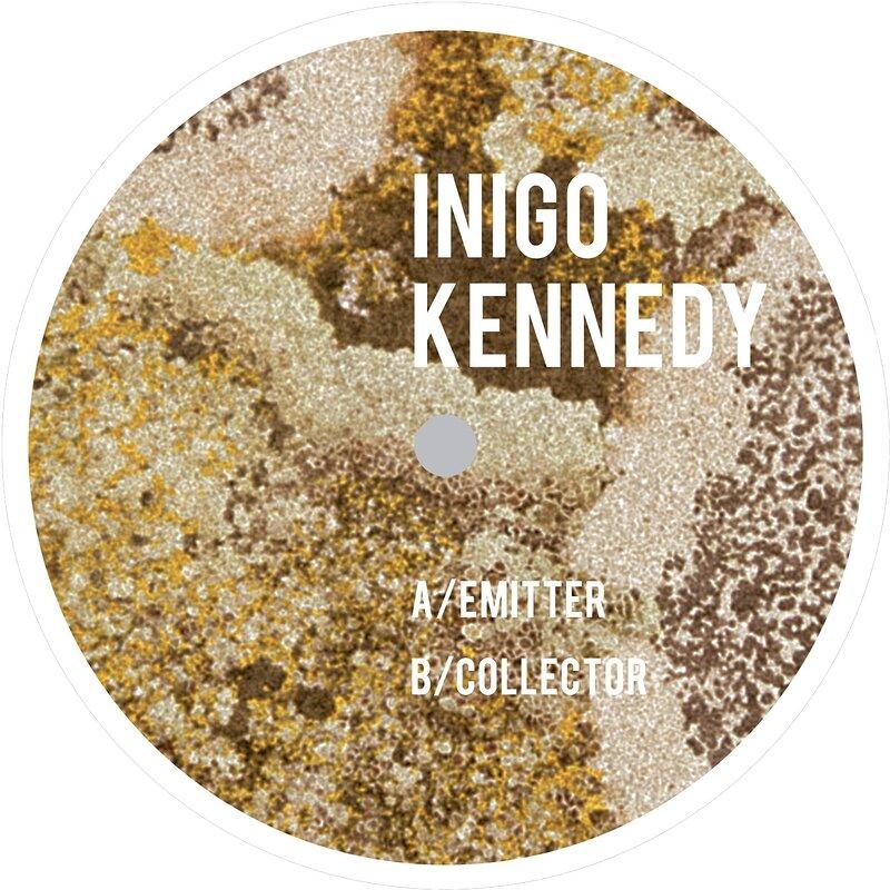 Cover art - Inigo Kennedy: Emitter