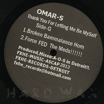 Cover art - Omar S: Thank You For Letting Me Be Myself - Part 2