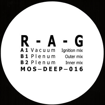 Cover art - R-A-G: Vacuum
