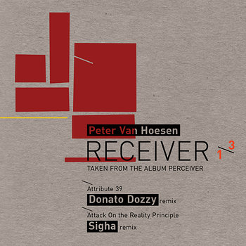Cover art - Peter Van Hoesen: Receiver 1/3