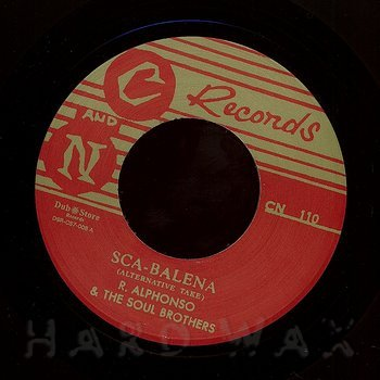 Cover art - Roland Alphonso & The Soul Brothers: Sca-Balena
